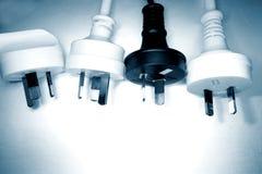 Electrical plugs Stock Image