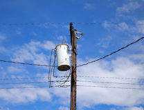 Electrical pole Royalty Free Stock Photos