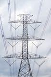 electrical Polonais et lignes électriques images libres de droits