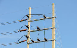 Electrical power distribution Stock Photography