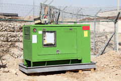 Electrical  power generator. Industrial-sized electrical  power generator Stock Photo
