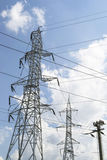 Electrical power grid Stock Photos