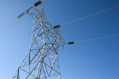 Electrical Power Line Stock Images