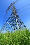 Electrical power line Stock Image