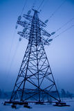 Electrical power line tower Royalty Free Stock Photos