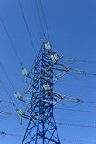 Electrical power lines Royalty Free Stock Image