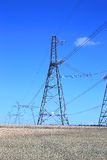 Electrical power lines Stock Image