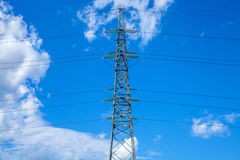 Electrical power lines Stock Images