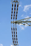 Electrical power lines Stock Photos