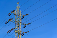 Electrical power mast Stock Photos