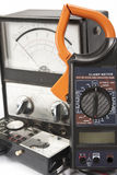 Electrical Power meters stock photos
