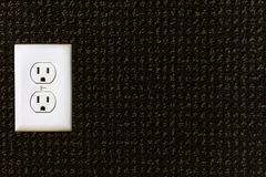 Electrical power outlet Royalty Free Stock Images