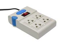 Electrical power plug isolated on white background Royalty Free Stock Image