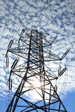 Electrical Power Pylon Stock Photos