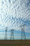 Electrical Power Pylon Stock Photography