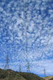 Electrical Power Pylon Royalty Free Stock Image