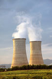 Electrical power station Stock Images