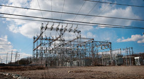 Electrical Power Station Stock Image