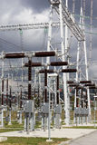 Electrical power substation. Stock Photos