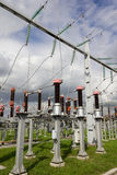 Electrical power substation. Stock Photography