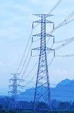 Electrical power tower Royalty Free Stock Images