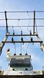 Electrical Power Transformer. Royalty Free Stock Photos