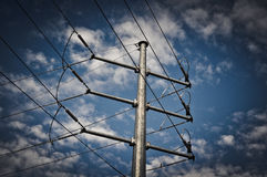 Electrical Powerline Royalty Free Stock Photos