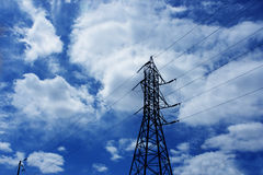 Electrical Powerline Royalty Free Stock Photo