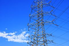 Electrical Powerlines Royalty Free Stock Photos