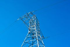 Electrical powerlines Stock Photography