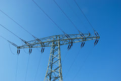 Electrical pylon Stock Photo