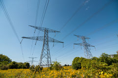 Electrical Pylon Royalty Free Stock Image