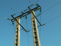 Electrical pylon Stock Photography