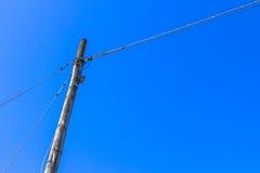 Electrical pylon Royalty Free Stock Photography