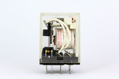 Electrical relay Royalty Free Stock Images