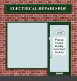 Electrical repair shop Royalty Free Stock Images