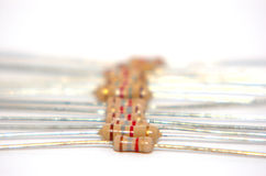 Electrical Resistors 3 Stock Image