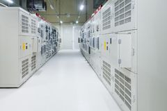 Free Electrical Room, Medium And High Voltage Switcher, Equipment, Royalty Free Stock Images - 110761469