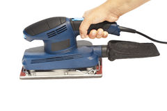 Electrical sander Royalty Free Stock Photos