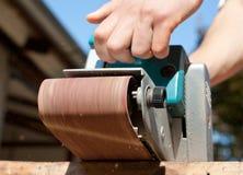 Electrical sanding machine Royalty Free Stock Photo