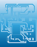 Electrical scheme Stock Images