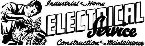 Electrical Service 2 royalty free illustration