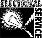 Electrical Service Royalty Free Stock Photos
