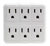 Electrical Socket Faces Royalty Free Stock Photos