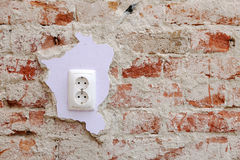 Electrical socket Stock Images