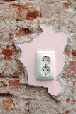 Electrical socket Royalty Free Stock Photo