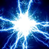 Electrical spark Royalty Free Stock Photography