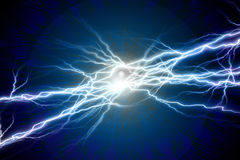 Electrical sparks Royalty Free Stock Image