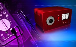 Electrical stabilizer Stock Photography