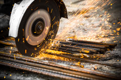 Electrical steel grinding Stock Photos
